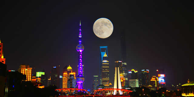 关于中秋月亮的美图